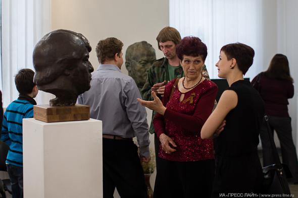 Открытие выставки Век скульптора
