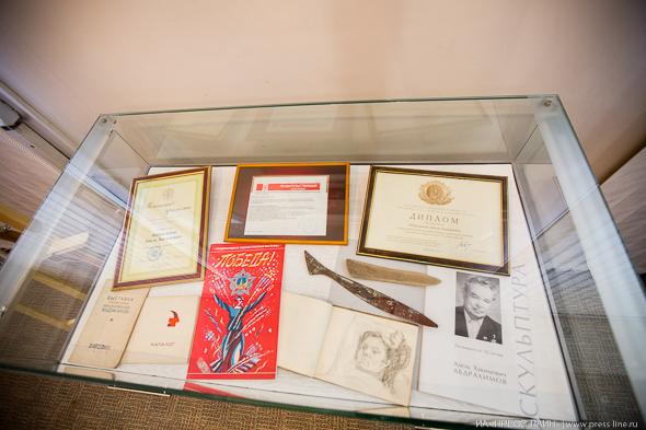 Юбилейная выставка Аделя Абдрахимова