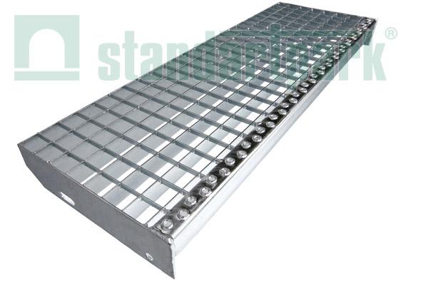 Лестничные ступени из решетчатого настила