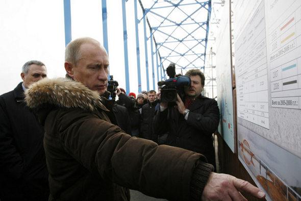 Путин в Красноярске