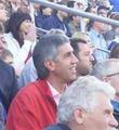 Анатолий Быков на регбийном матче - сборная Красноярска - сборная графств Англии